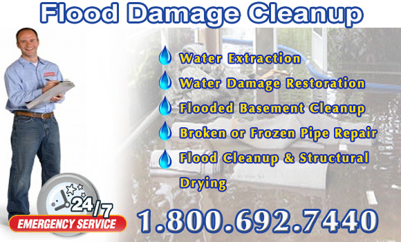 flood_damage_clean_up Cleveland Mississippi